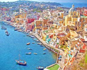 世界一美しい街イタリアのプローチダ島