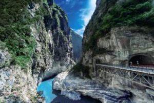 太魯閣峡谷は台湾の秘境