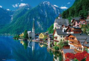 世界で一番美しい湖岸の町ハルシュタット