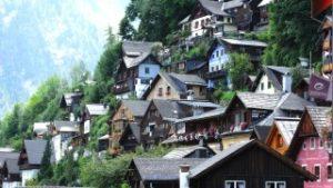 世界遺産オーストリアのハルシュタット湖は絵になる!