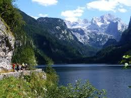 オーストリアの絶景、ゴーザウ湖