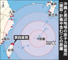 台湾で原発事故が発生した場合の日本への悪影響予想