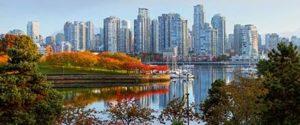 カナダの人気観光都市バンクーバーの街並み