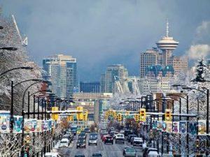 カナダの人気観光都市バンクーバーは冬もウインタースポーツで楽しめる