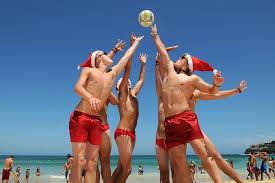 オーストラリアシドニーの常夏クリスマス