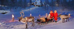 ラップランドで本格的なクリスマス気分を味わいたい