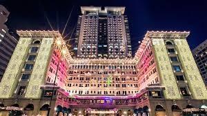 クリスマスの香港旅行はペニンシュラ香港ホテルに宿泊