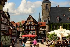 世界一美しい街ドイツのクヴェードリンブルグ