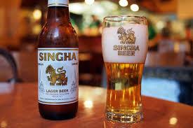 タイで一番人気のあるシンハービール