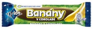 チョコ大国チェコではバナナ味も大人気