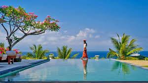 バリ島の豪華ホテルで過ごす冬休み旅行