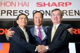 鴻海会長、シャープを「買収ではなく投資」