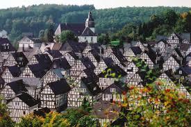 世界一美しい街ドイツのフロイデンベルク