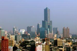 台湾第二の都市高雄の街並み