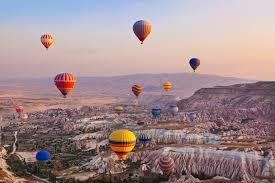 カッパドキア気球の初日の出参拝