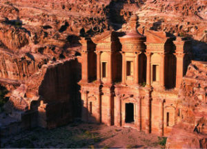 ヨルダンの世界遺産ペトラ遺跡の新年