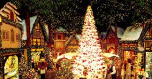クリスマスツリー発祥の地フランスのアルザス地方