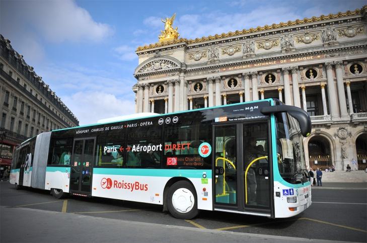 シャルル・ド・ゴール空港からパリ市内への移動!オペラ座周辺に宿泊するならロワシーバスで!