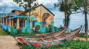 ダナン近郊の町 Tam Ky (タムキー ) のTam Thanh (タムタイン) 村はアート天国!