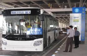「ドンムアン」〜「スワンナプーム」空港間の移動方法について(無料シャトルバス)